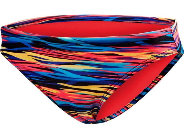 TYR Bonzai Classic Slip del bikini Mujer, black/multicolor